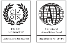 ISO 9001 and IAB accreditation